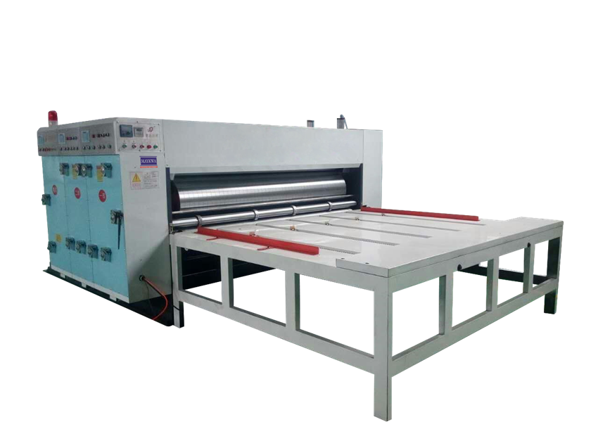 Chain fed Flexo Printing Machine