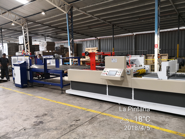 Flexo Printer Slotter inline Folder Gluer