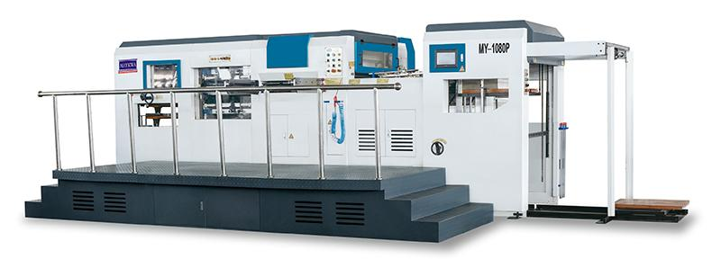 MY-1080P Automatic Die Cutting and Creasing Machine with Stripping Unit